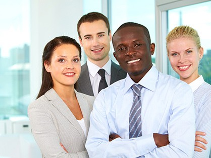 team of employees