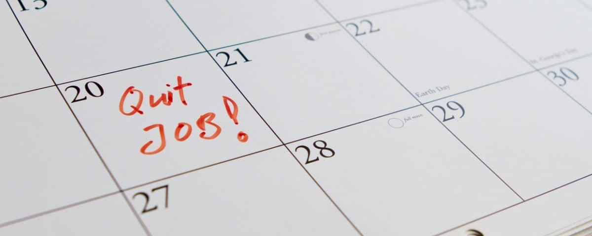 Quitting Your Job - TBM Payroll
